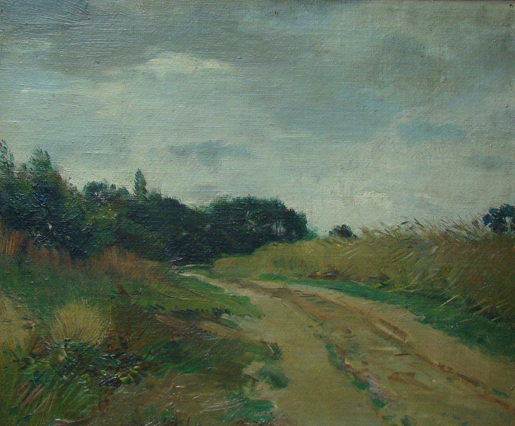 Landschap schilderijen Bartus