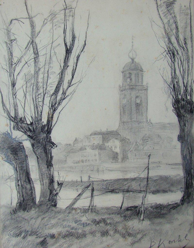 Stadsbeelden tekeningen Bartus