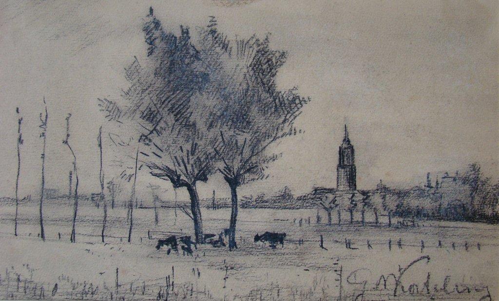 Landschappen tek. Gerhard Willem